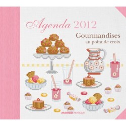 Agenda 2012 Gourmandises au point de croix