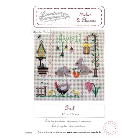 AVRIL - SEMI-KIT FICHES & CHARMS