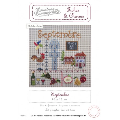 SEPTEMBRE - SEMI-KIT FICHES & CHARMS