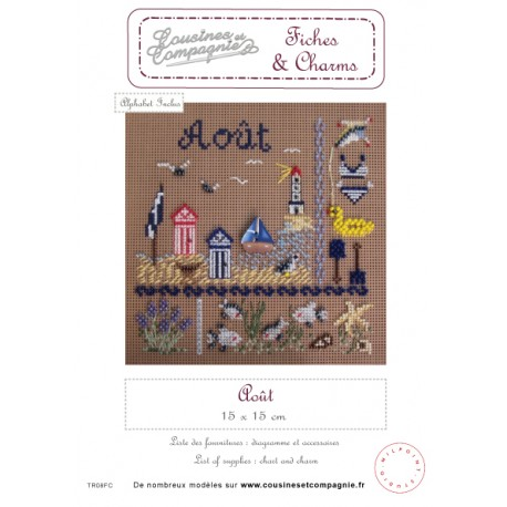 AOUT - SEMI-KIT FICHES & CHARMS