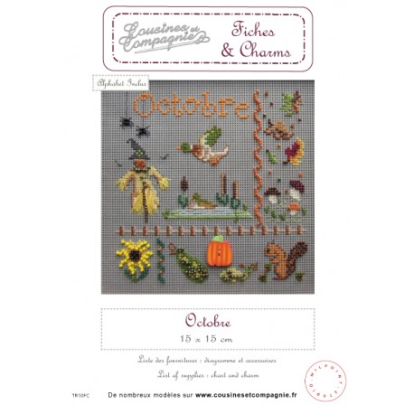 OCTOBRE - SEMI-KIT FICHES & CHARMS