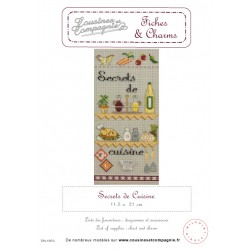 SECRET DE CUISINE - SEMI-KIT FICHES & CHARMS