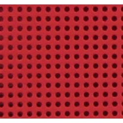 FEUILLE CARTON PERFORE 21X29CM ROUGE